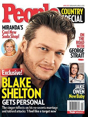 People Magazine Blake Shelton