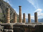 Ruins of Apollo at Delphi