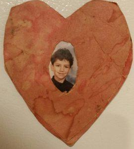 Son Christopher's Kindergarten Valentine